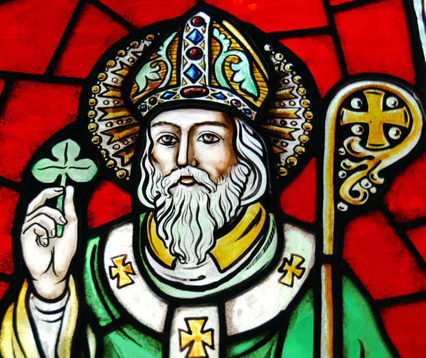 Heres 5 Badass Facts About St. Patrick You Probably Didnt Know St Patrick Shamrock Image
