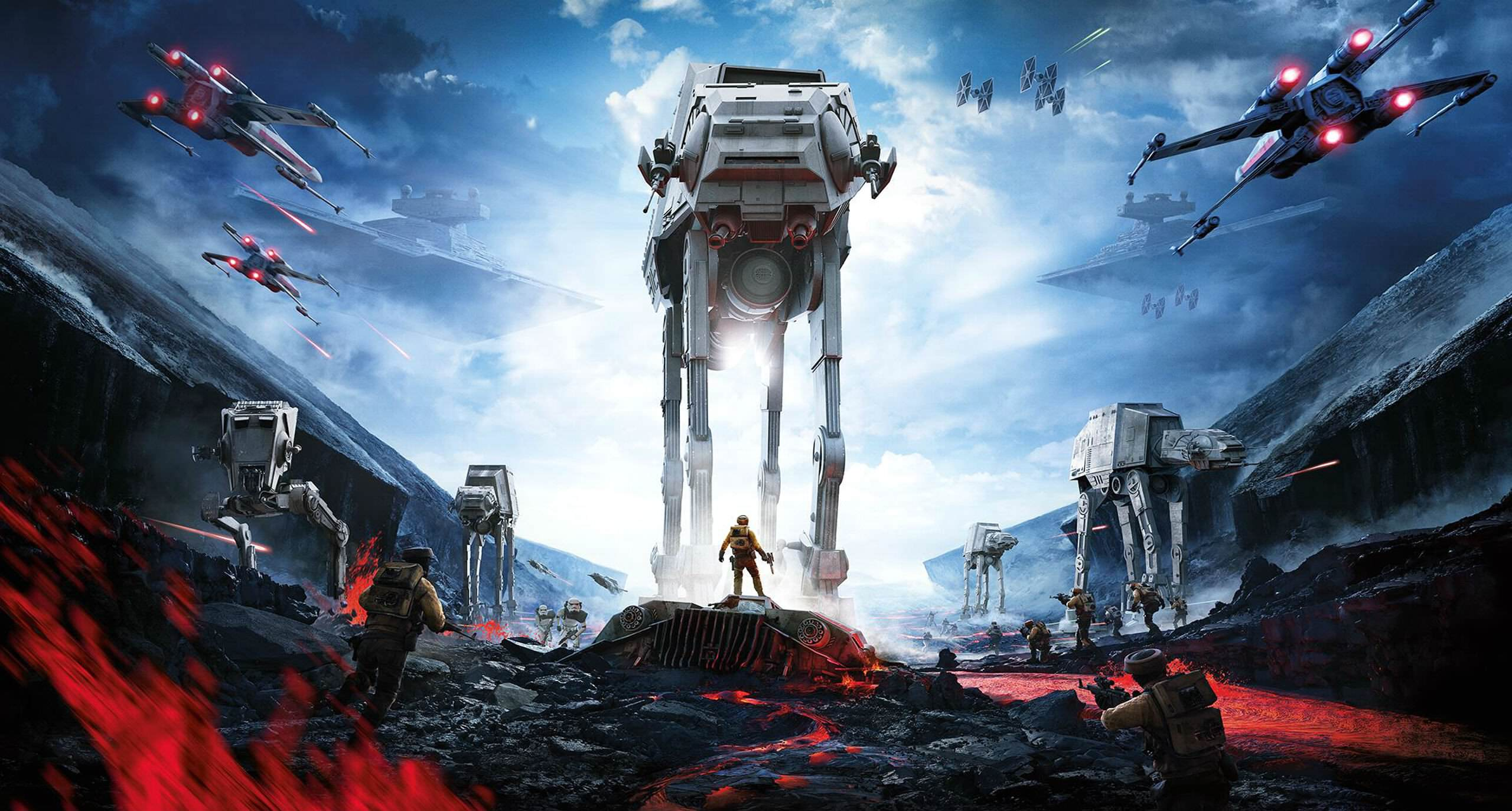 Star Wars Battlefront DLC Adds Two Unlikely Heroes Star Wars Battlefront Cover Poster Wallpaper HD