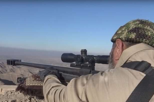 Meet The 62 Year Old Sniper Who Has Killed An Insane Amount Of ISIS Fighters The elderly Iraqi sniper who has killed 173 ISIS fighters 2