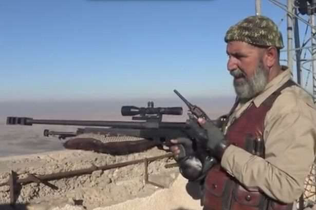 Meet The 62 Year Old Sniper Who Has Killed An Insane Amount Of ISIS Fighters The elderly Iraqi sniper who has killed 173 ISIS fighters