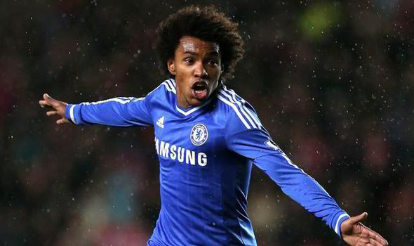 Five Reasons Chelsea Can Claim A Champions League Place Willian Express