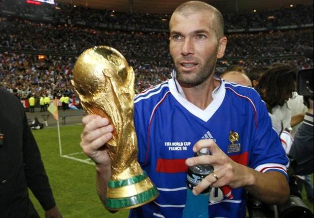 Zidane world cup goal com
