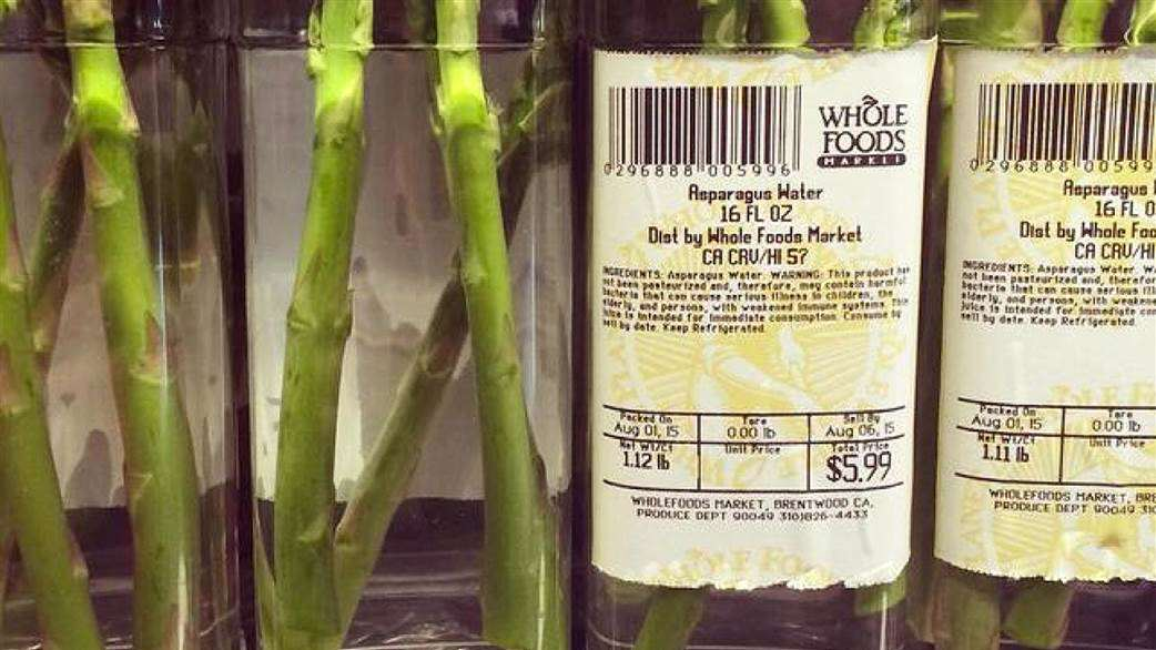 People Arent Happy About What This Supermarket Has Done To Oranges asparagus