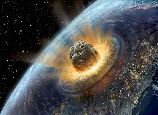 A Rogue Planet Is Going To Destroy Earth Later This Year, Apparently asteroid impacting earth