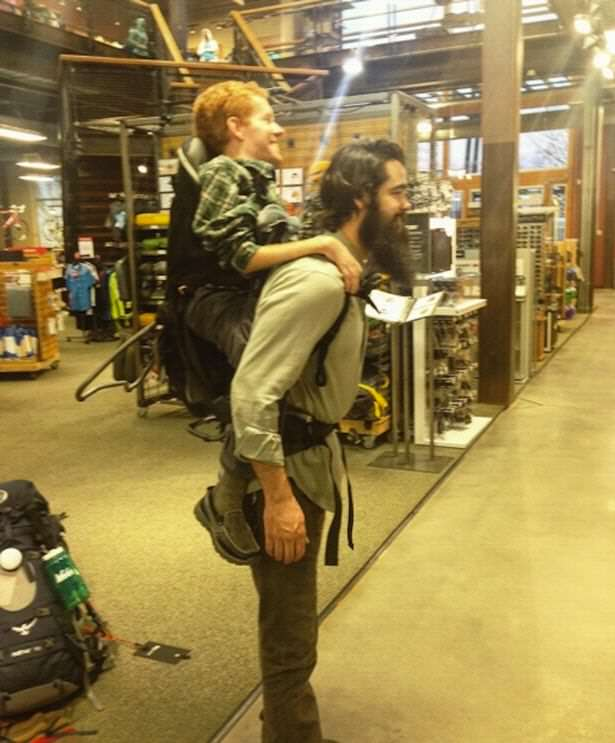 Man Plans To Travel Across Europe With Friends   As The Backpack backpack man 1