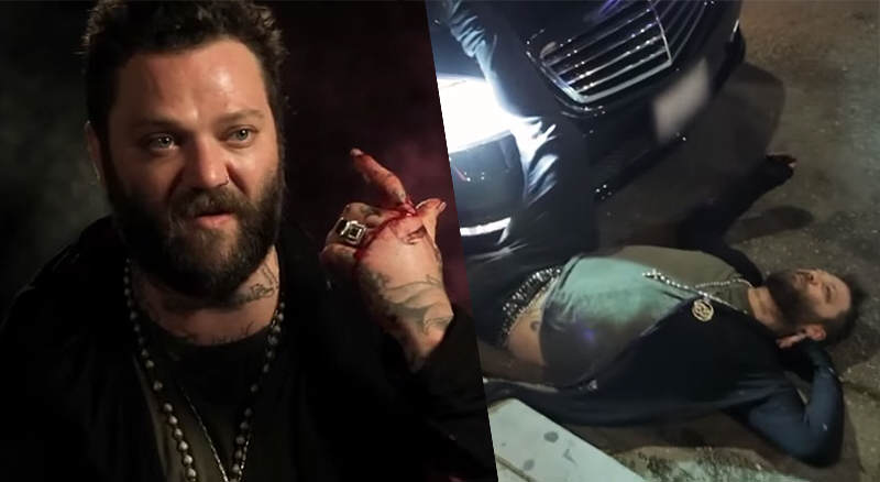 New Tv Footage Of Bam Margera Shows Him At Incredibly Low Point