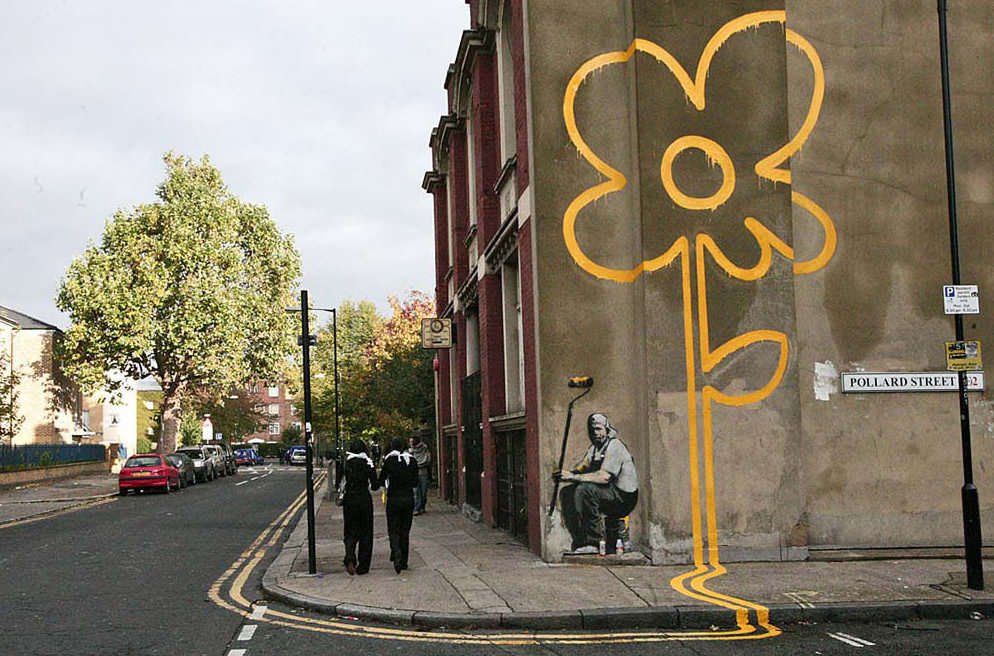 essay banksy Banksy: artist or lawbreaker art is a persons' opinion the definition of art is the quality, production, expression, or realm, according to aesthetic principles, of what is beautiful, appealing, or of more than ordinary significance.