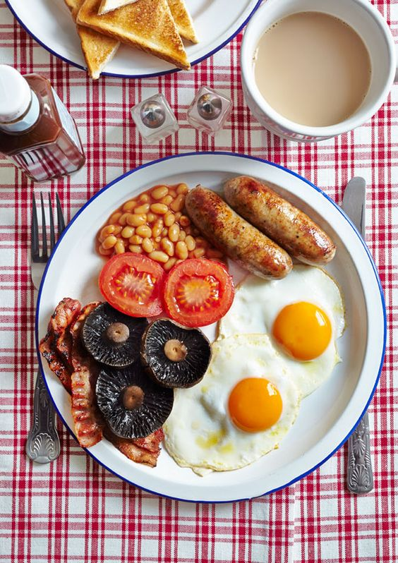 breakfast fry up