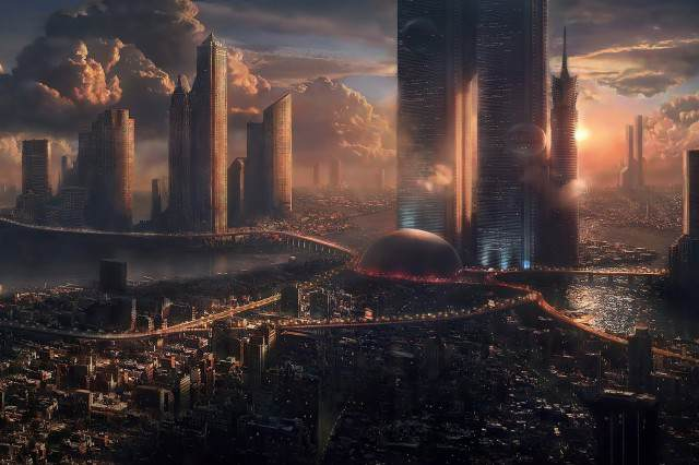 Heres What Cities Could Look Like in 2050 building 640x426