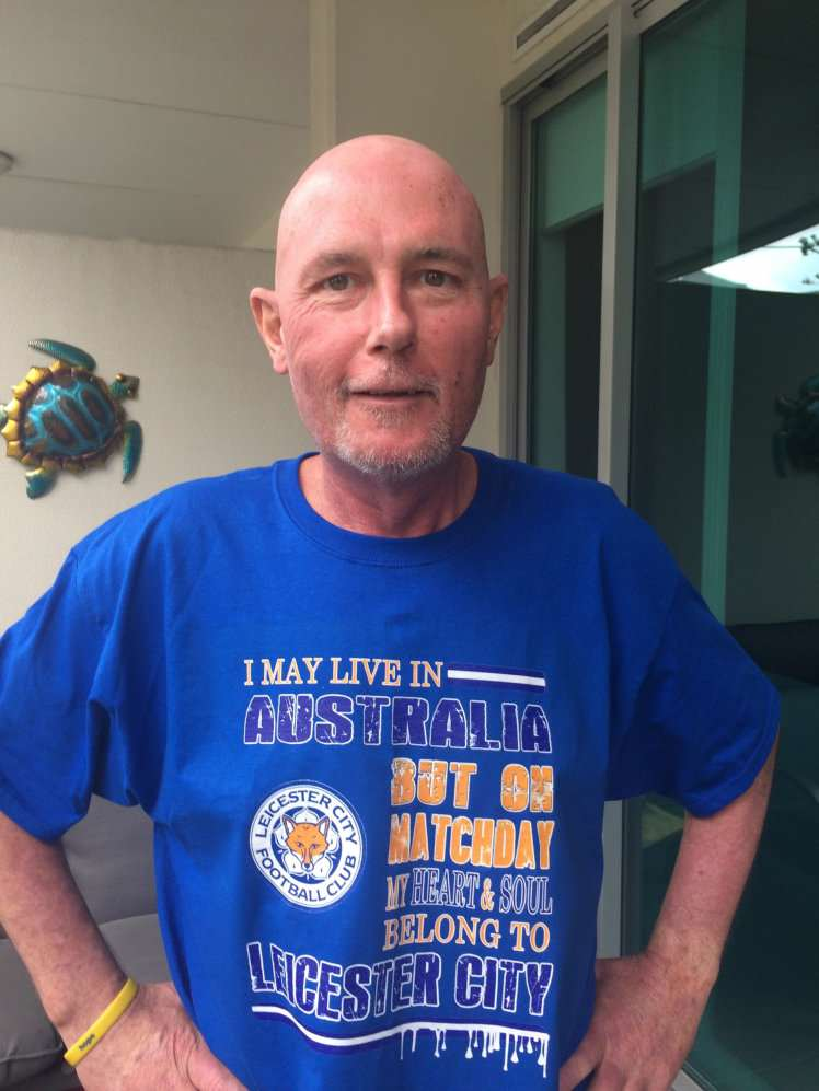 Terminally Ill Leicester Fan Says Title Race Is Keeping Him Alive cancer fan SWNS