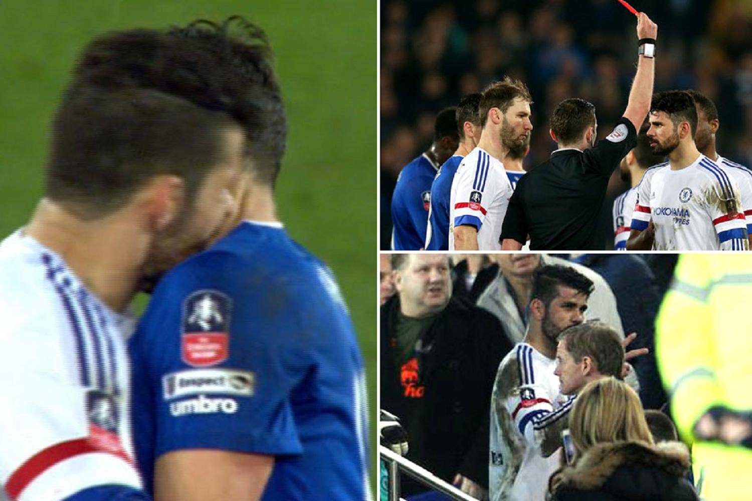 Yes Costas A C*nt, But Thats Not Why Chelsea Need Rid costa wanker