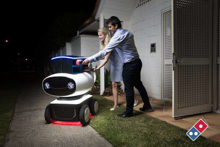 Dominos New Futuristic Delivery Method Could Be An Absolute Game Changer dom080316670