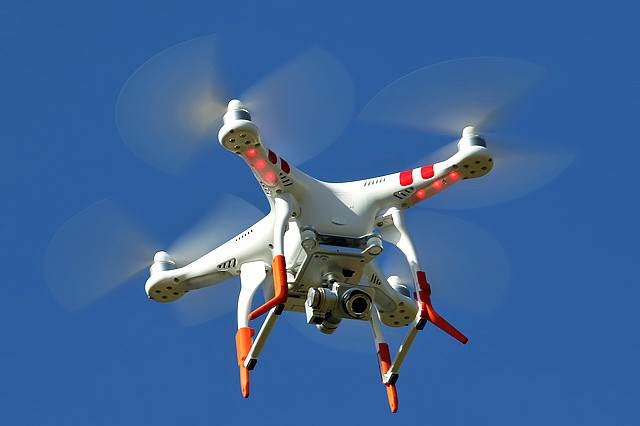 Drones Could Wreak Havoc With Passenger Planes Engines drone 640x426