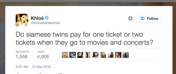 Is Khloé Kardashian Stealing Her Tweets From Yahoo Answers? enhanced 23293 1458595900 1