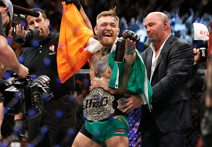 Conor McGregor Accused Of Ducking Title Fight With Frankie Edgar frankie1