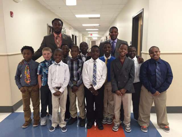 This Teacher Takes Fatherless Kids And Teaches Them Important Life Lessons gentlemen club 640x480 1