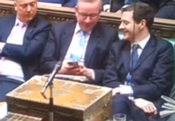 George Osborne Asked To Apologise To Disabled, Reacts Like Smug Tw*t george osbourne featured