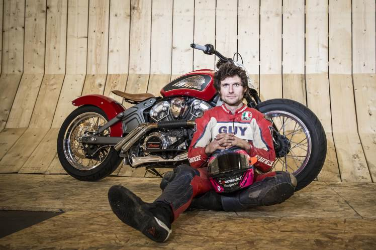 Guy Martin Smashes Wall Of Death Record On Live TV gmwod60