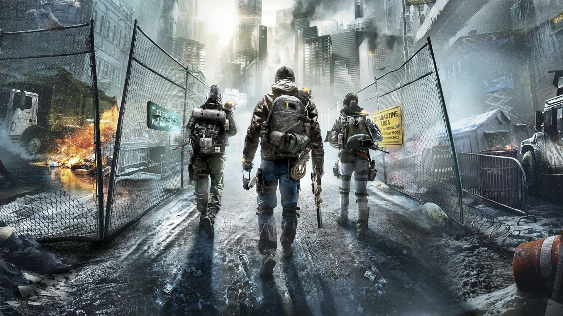 Ubisoft Outline Post Launch Content For The Division image 1