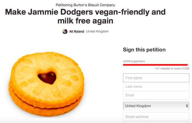 Jammie Dodger Are Changing Their Recipe, People Arent Happy jammie1