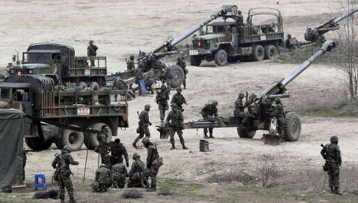 U.S And South Korea To Invade North Korea In Massive War Games korea1 1
