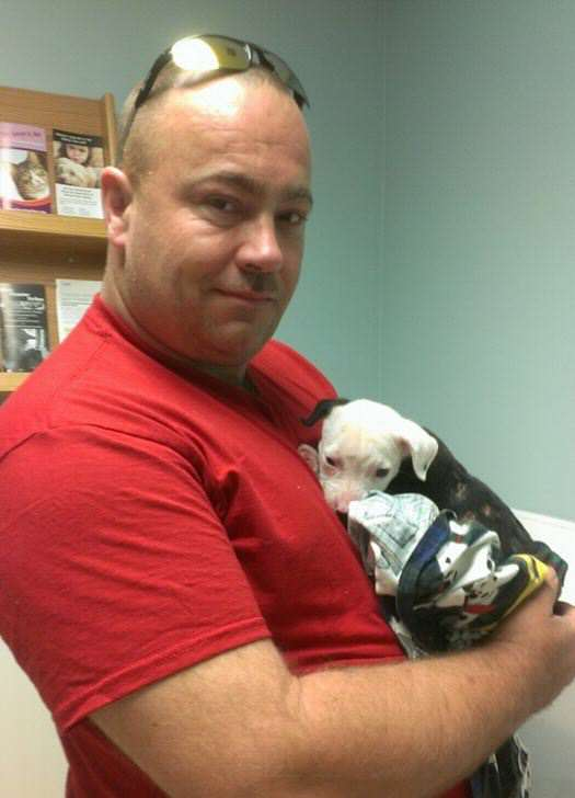 Puppy Rescued From Fire Grows Up To Become A Firefighter lindler