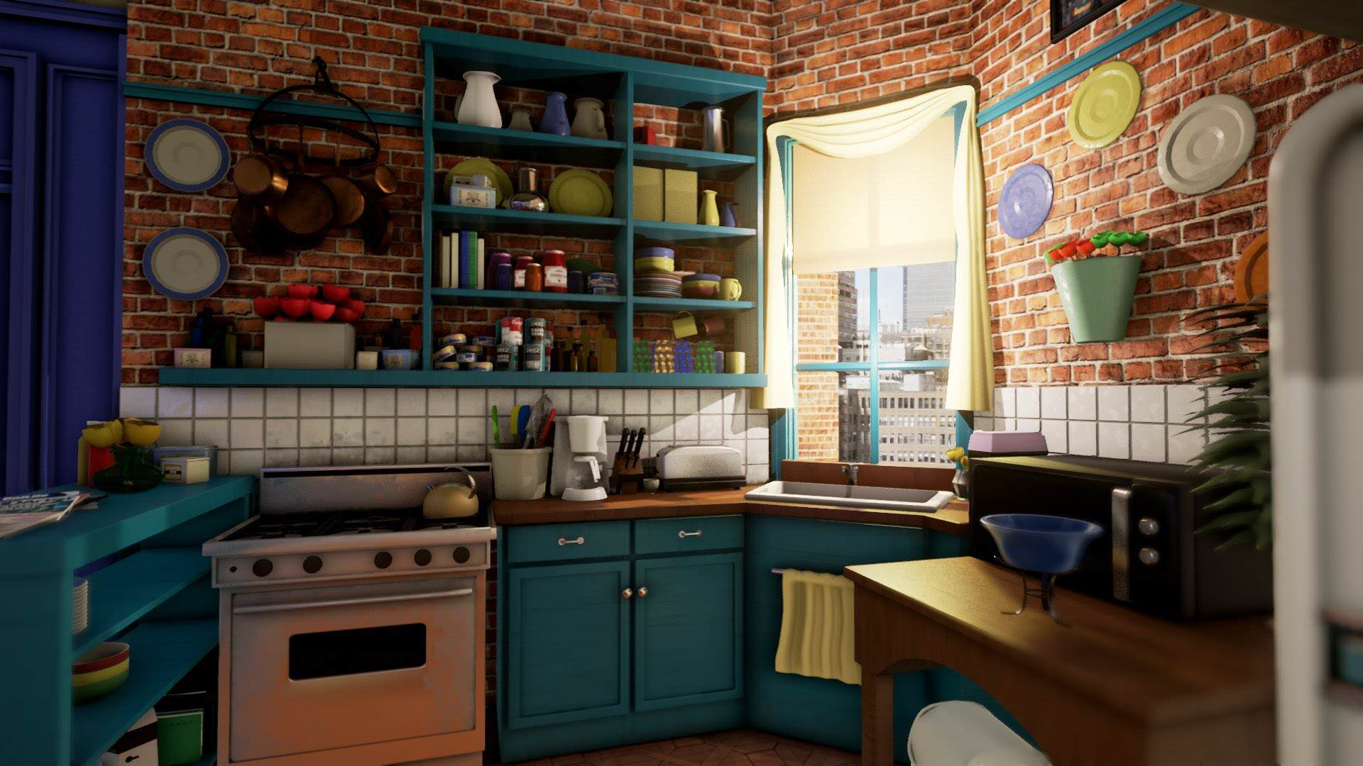 Iconic Friends Location Recreated In Unreal Engine 4 maxresdefault 1 2