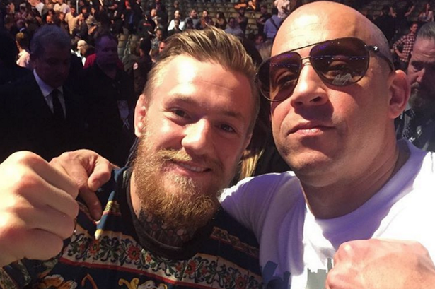 Conor McGregor Pulls Out Of Blockbuster Movie To Focus On Fighting mcgregor diesel