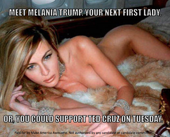 Donald Trump Threatens Ted Cruzs Wife With This Mysterious Tweet melania