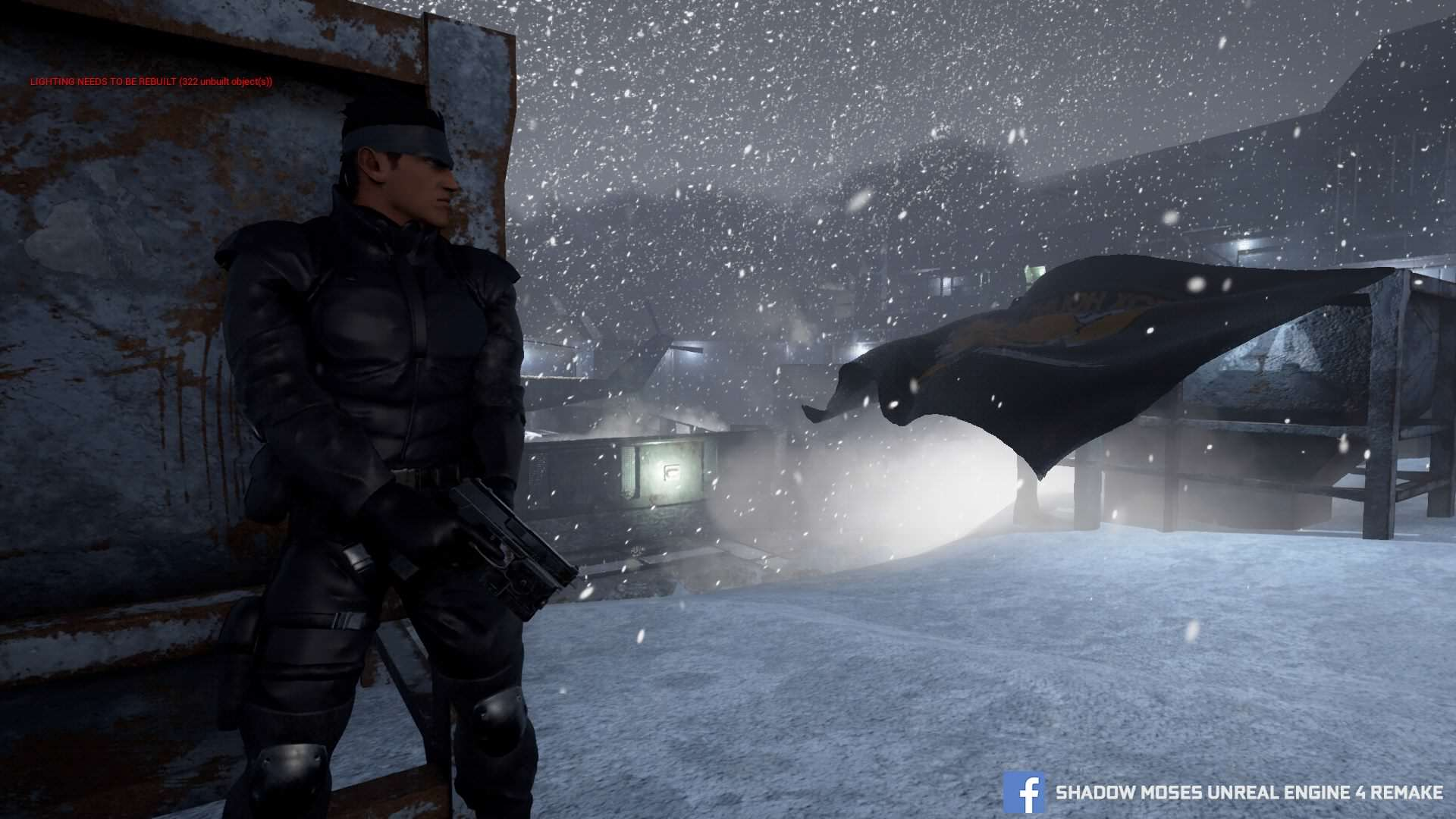 Metal Gear Solid HD Fan Remake Mysteriously Shuts Down metal gear solid shadow moses