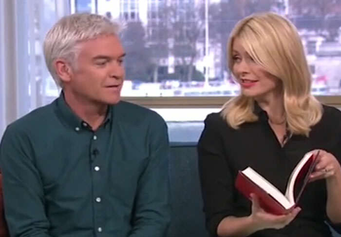 Holly Willoughby Makes Phillip Schofield Blush With Sexual Innuendos novel1