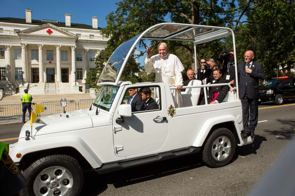 The Pope Is Joining Instagram, What Can We Expect? pope francis jeep 1200x800