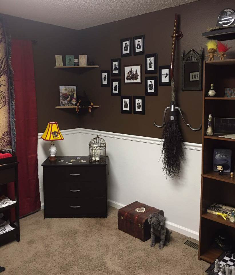 Parents Make Harry Potter Themed Nursery For Their Kid And Its Awesome potter3