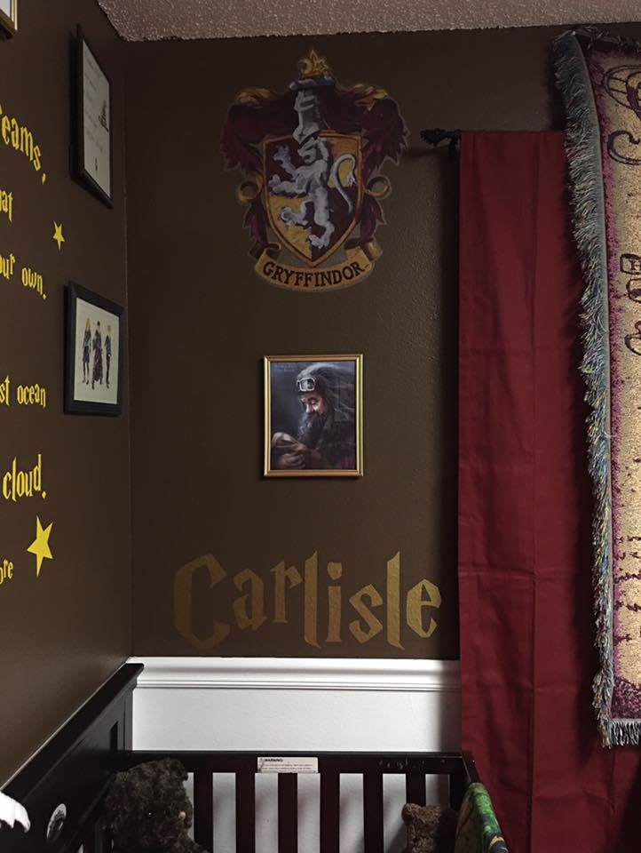 Parents Make Harry Potter Themed Nursery For Their Kid And Its Awesome potter4