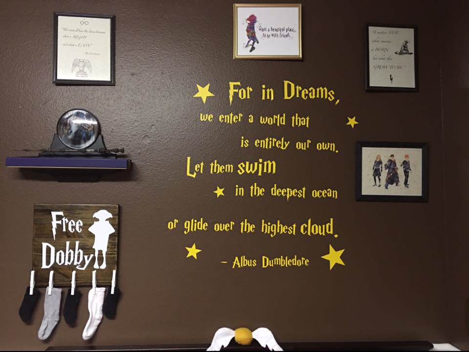 Parents Make Harry Potter Themed Nursery For Their Kid And Its Awesome potter7