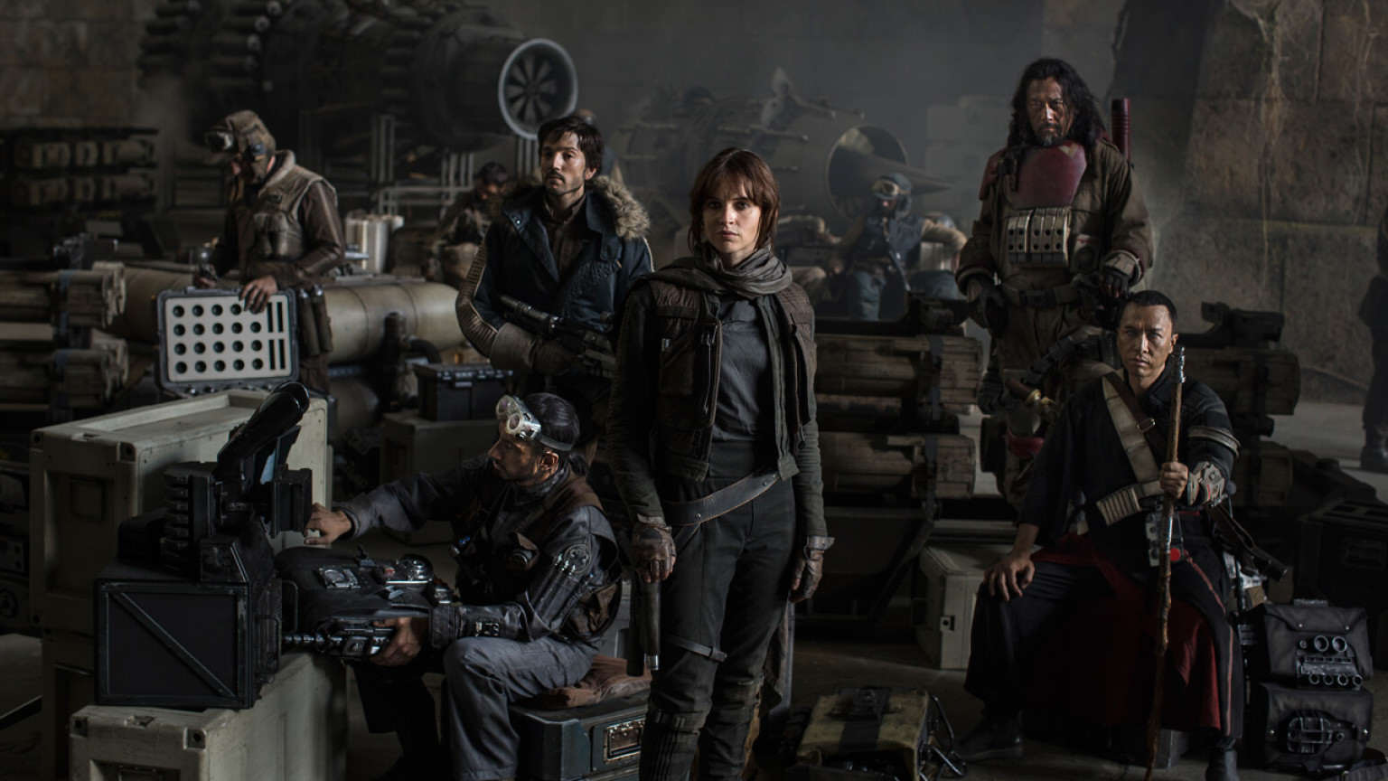 Rogue One: A Star Wars Story Teaser Leaked Online rogue one cast photo d23 1536x864 521514304075