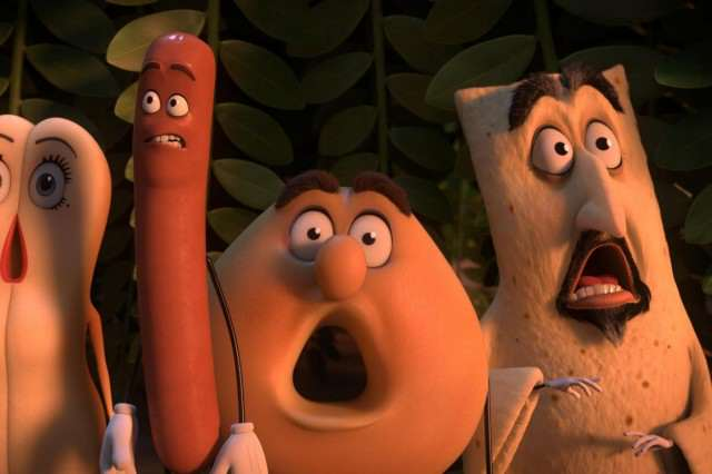 Newest Sausage Party Clip Takes Sexual Innuendo To A New Level sausage party 2016 large cover 640x426