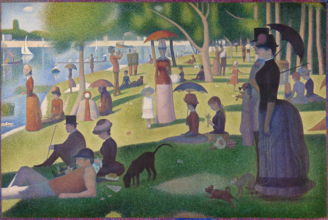 This New Photographic Memory Test Will Ruin You seurat a sunday on la grande jatte