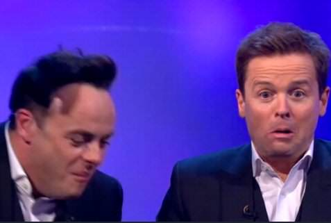 This May Be The Most Awkward Saturday Night Takeaway Moment Ever snt awkward 1