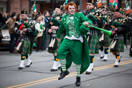 Heres 5 Badass Facts About St. Patrick You Probably Didnt Know st patricks parade 2010 leprechaun