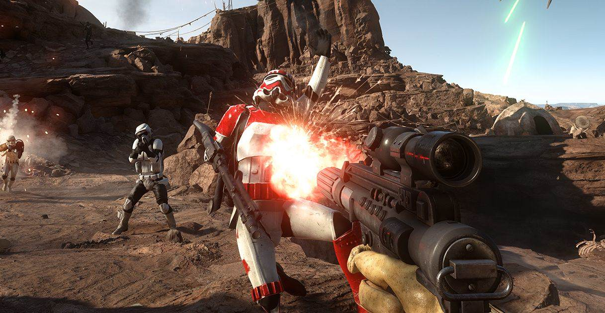 Star Wars Battlefront Story Mode Requested By Force Awakens Actor star wars battlefront 1