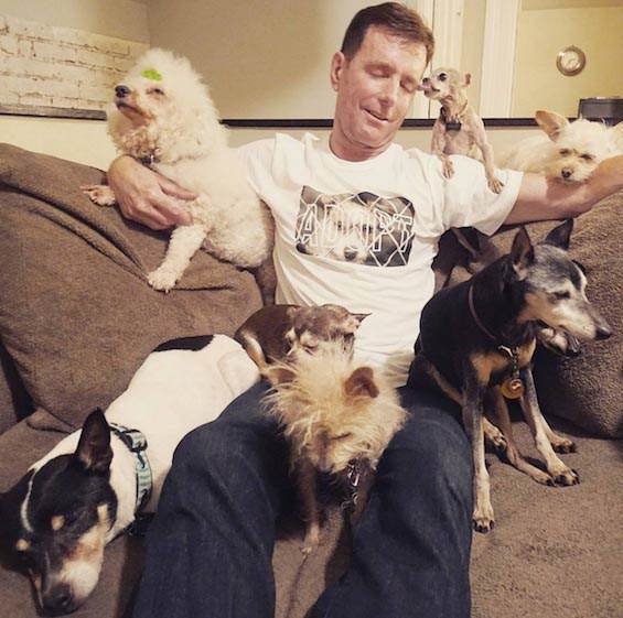 This Guy Adopts Old Animals And His Instagram Is Amazing steve1