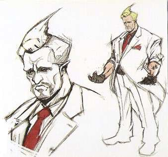 Early Street Fighter V Designs Show Some Pretty Weird Fighters street fighter v business man