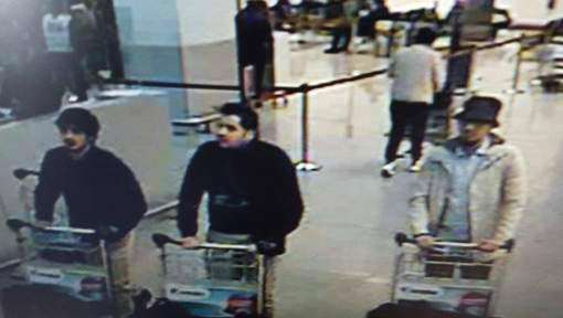 BREAKING: First Image Of Brussels Attacks Suspects Have Emerged suspects 1