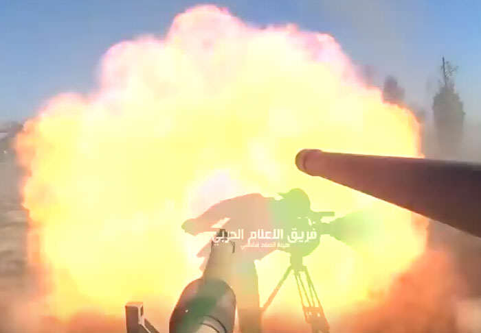 GoPro On Tank Turret Gives First Hand View Of War Against ISIS tank1
