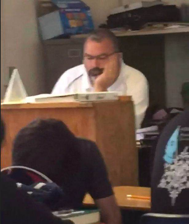 Embarrassing Moment Teacher Gets Caught By Students Shopping For Lingerie teacherboob1