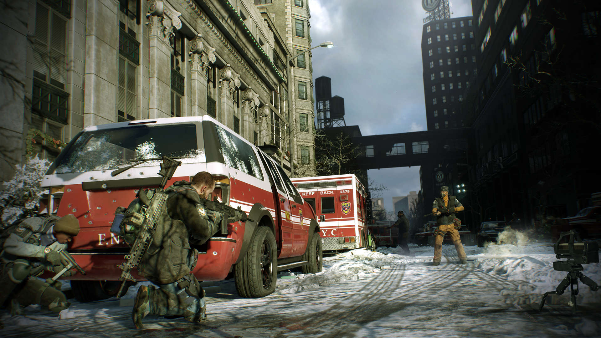 The Division Datamined To Reveal All Kinds Of New Info the division screenshot ign december 2015 encounter