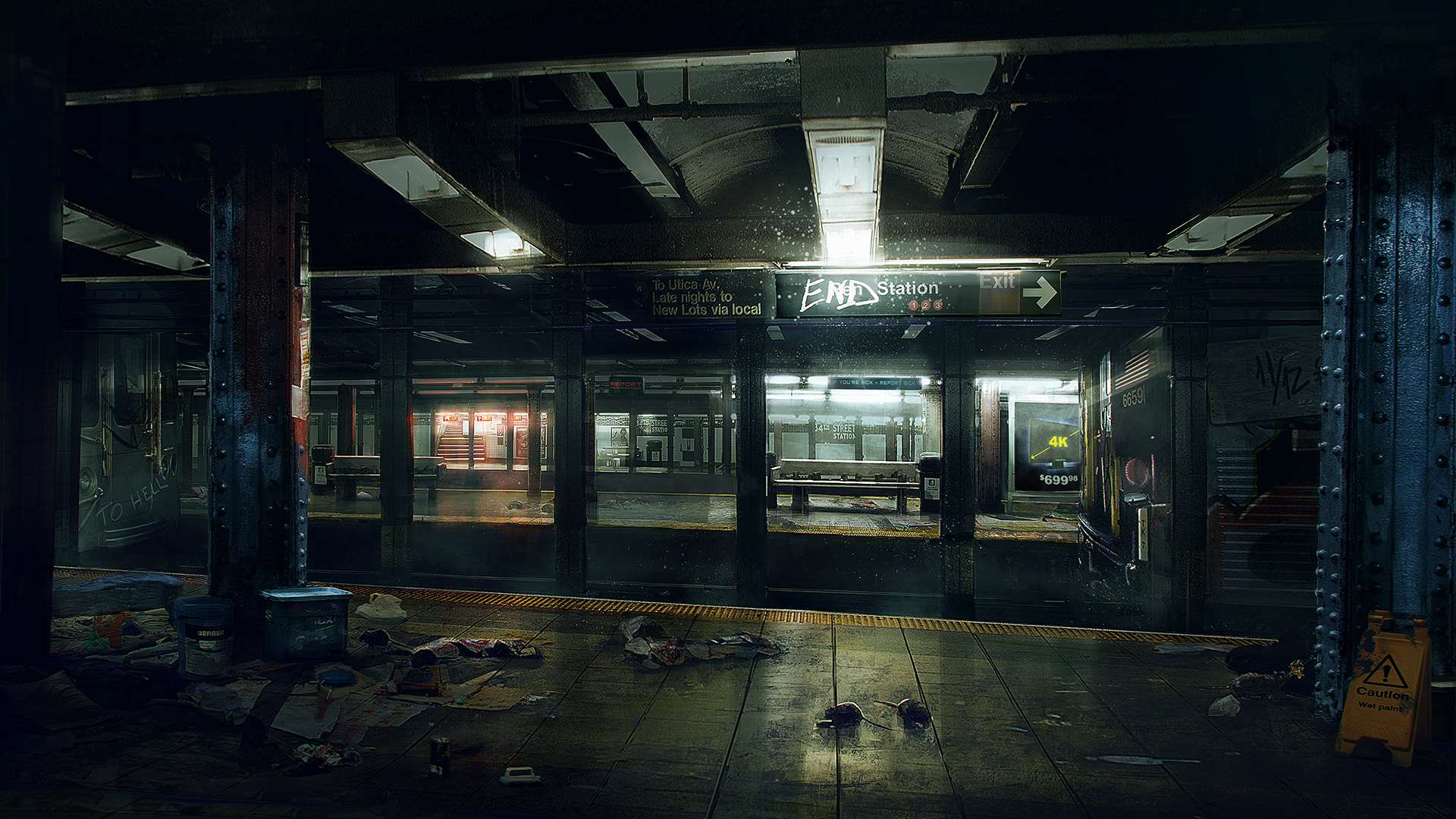 Ubisoft Outline Post Launch Content For The Division the division underground artwork