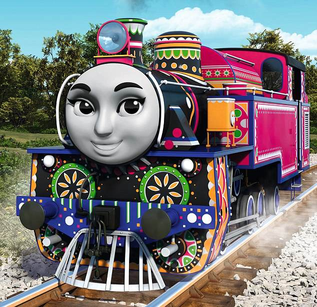 Daily Mail Readers In Meltdown Over Multicultural Thomas The Tank Engine thomas3