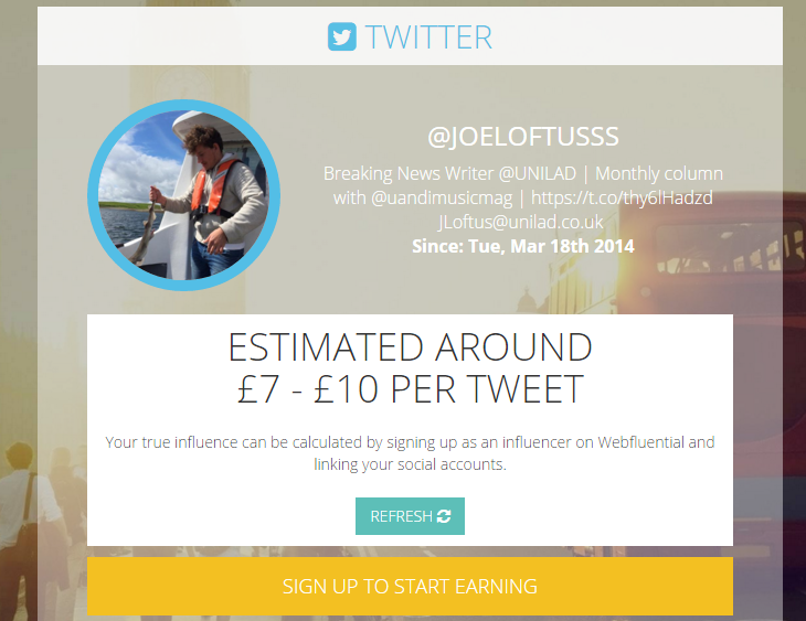 New Calculator Reveals How Much Money You Can Make From A Tweet voila